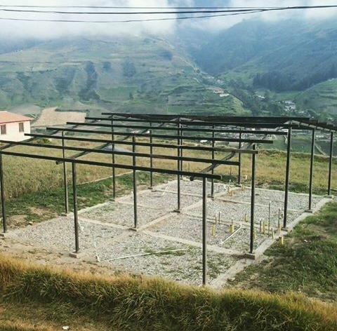 kit estructural para casas prefabricados y tuberia pvc
