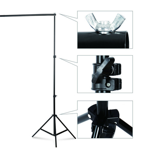 kit estudio fotografico luz continua fotografia