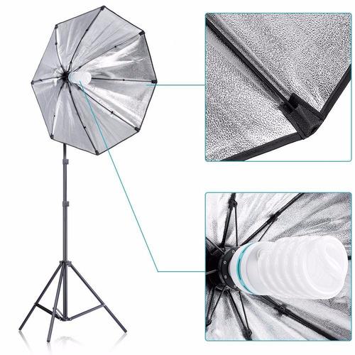 kit estudio fotográfico luz continua octabox envío gratis