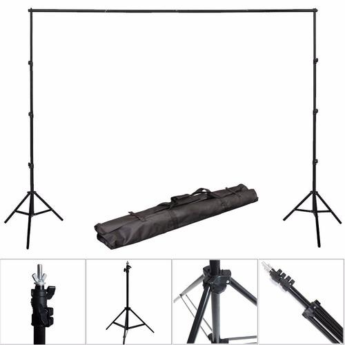 kit estudio fotográfico luz fondos sombrillas envió gratis!!