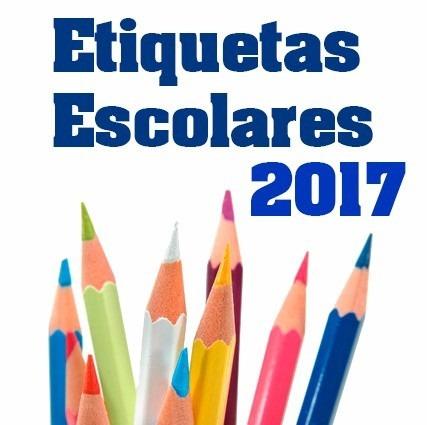Kit Etiquetas Escolares 100% Editables Listas Para Imprimir ...