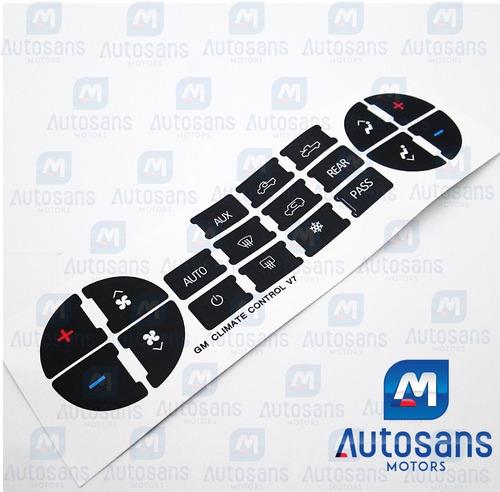 kit etiquetas mando control aire acondiciona tahoe avalanche