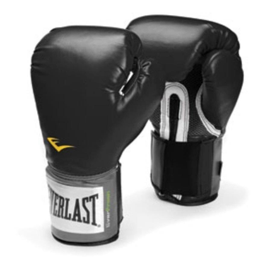 d8d048013 Kit Everlast Preto Boxe Muay Thai 12oz Bandagem + P. Bucal - R  143 ...