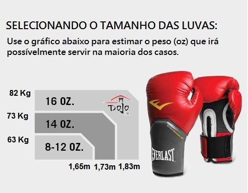 95c74a011 Kit Everlast Preto Luva Boxe Muay Thai + Bandagem   Promoção - R ...