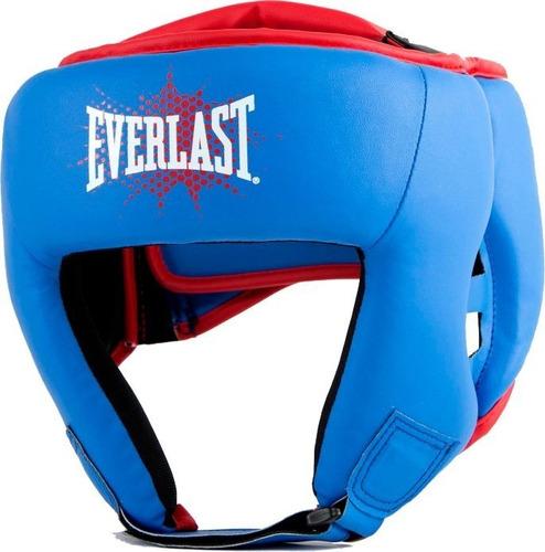 kit everlast prospect niño niña guantes focos cabezal - els