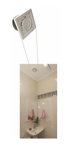 kit exaustor de banheiro, lavabos e closets, ventisilva