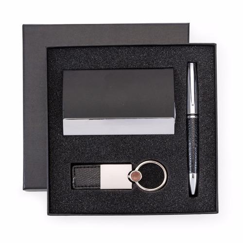 kit executivo presente já personalizado direito um luxo!