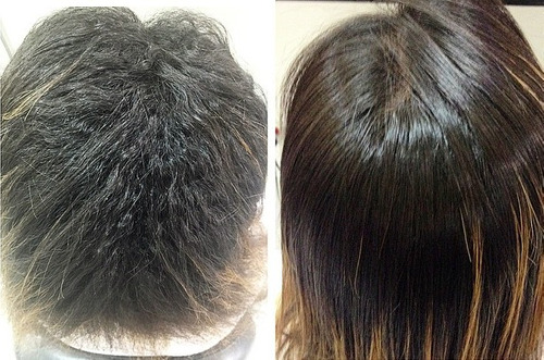 kit exoplastia capilar exo hair 2 x 500ml selagem + brinde