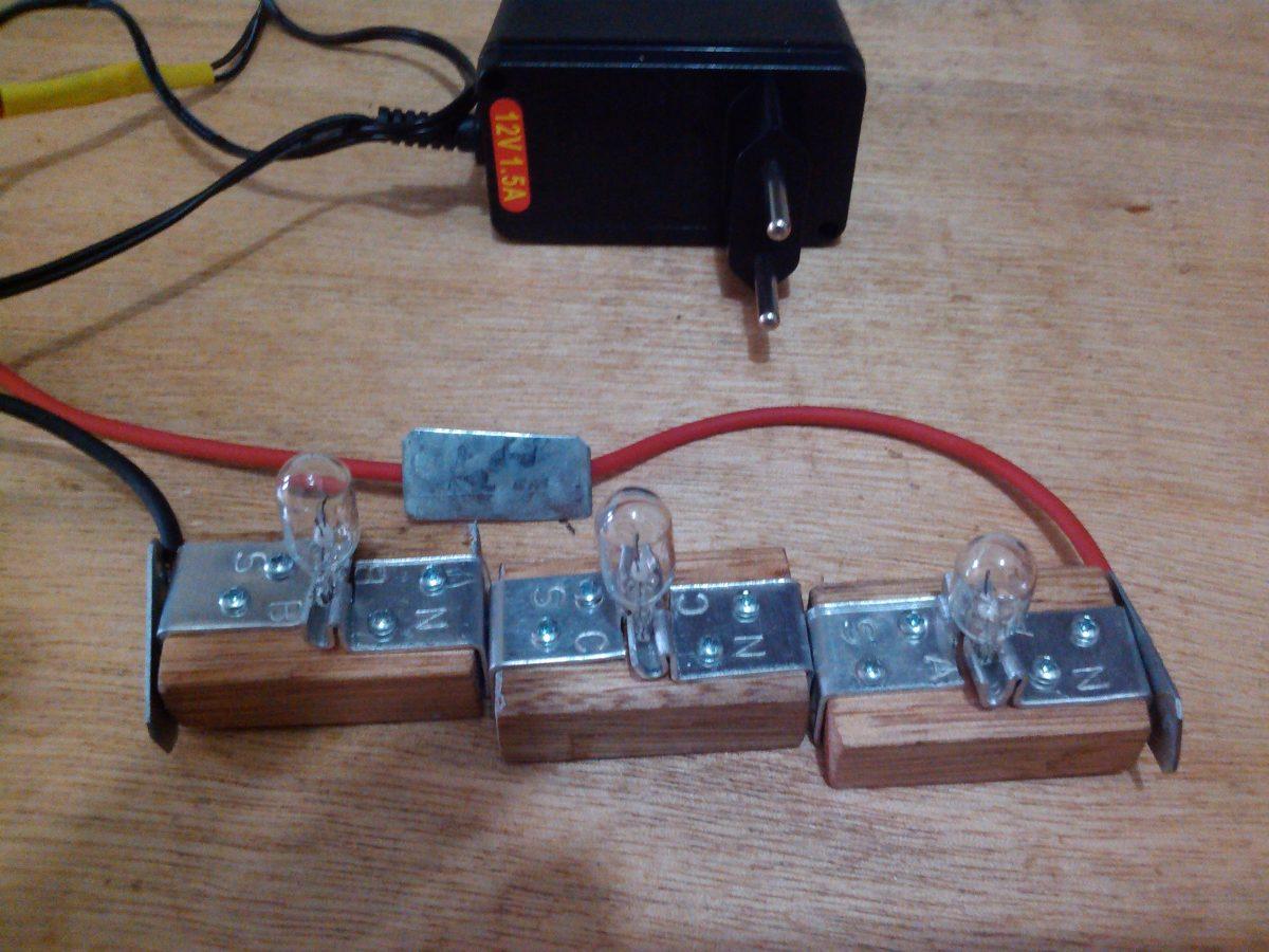 Circuito En Paralelo : Kit experimento de física circuito série paralelo r