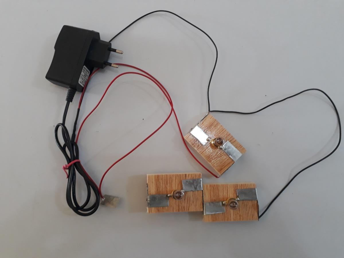 Circuito En Paralelo : Kit experimento escola de física circuito série paralelo r