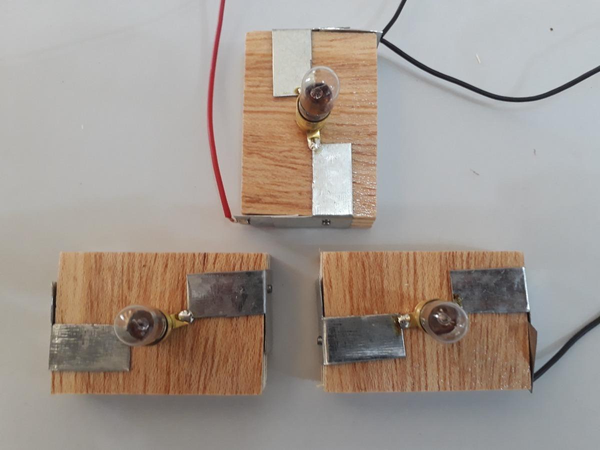 Circuito Em Série : Kit experimento escola de física circuito série paralelo r