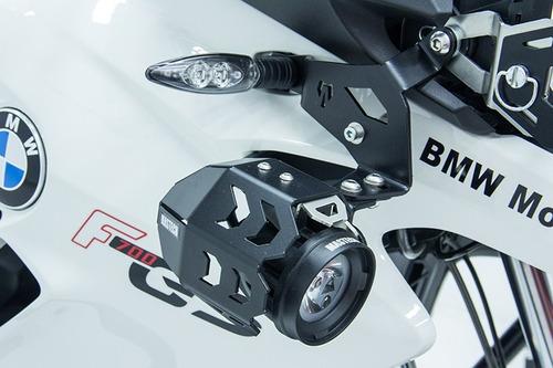 kit exploradora led derecho negro bmw f700 gs 15-up
