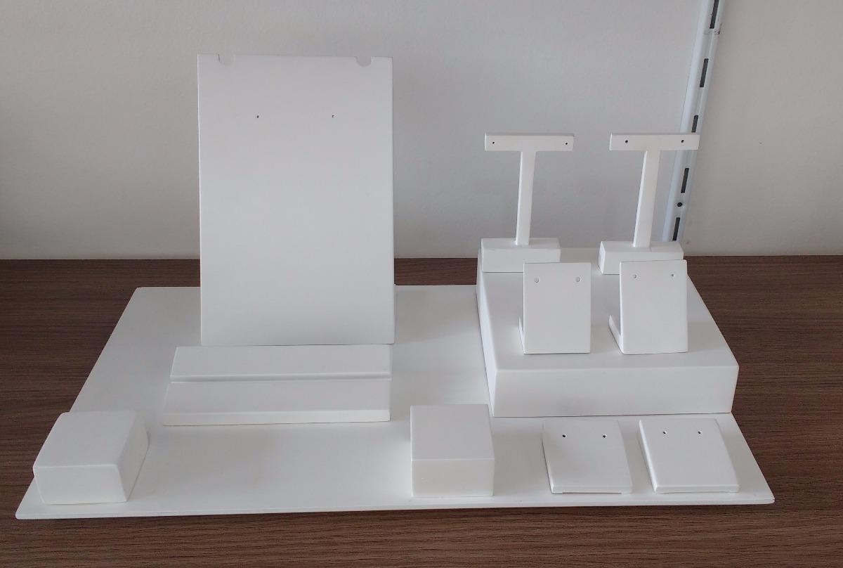 91a748d6af8 kit expositor para vitrine de joias 12 peças. Carregando zoom.