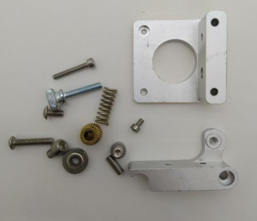 kit extrusor mk8 aluminio impresora 3d cuotas sin interés