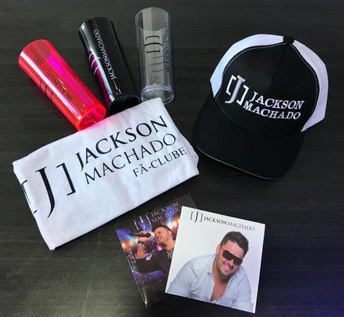 kit fã clube jackson machado fã nº 1