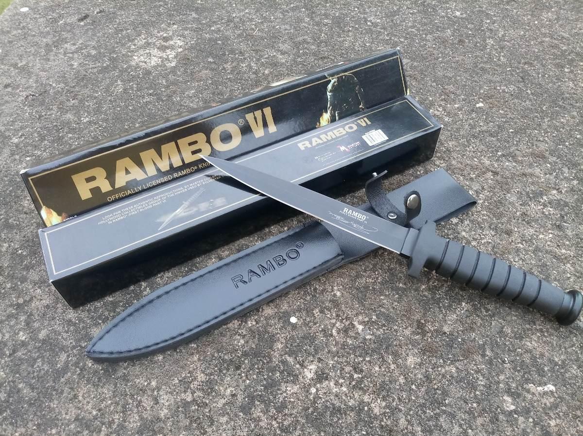 Kit Faca Rambo Original Todas As 5 Facas Rambo 1-2-3-4-6