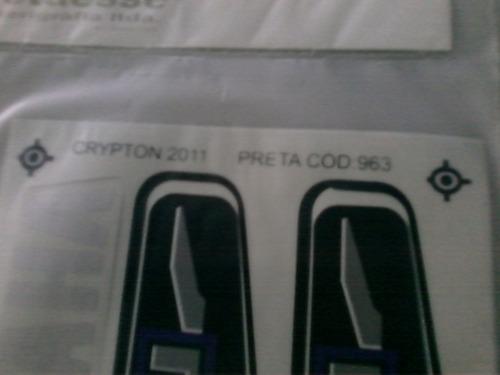 kit faixa adesiva clypton 2011 preta  completo