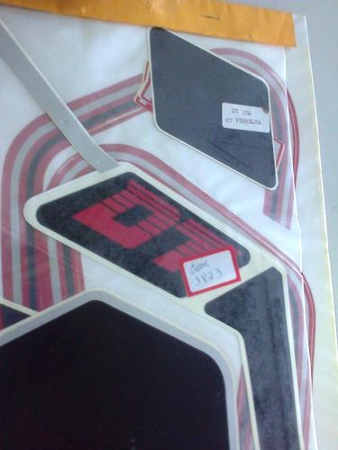 kit faixa adesiva dt180 87 vermelha completo