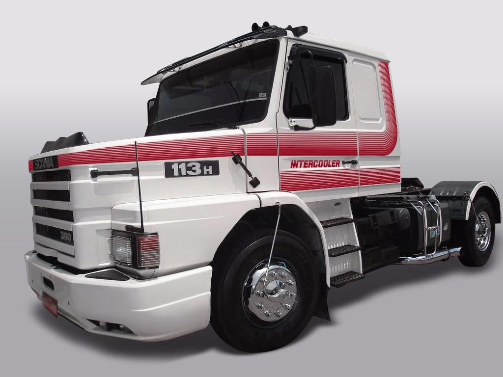 Artesanato Junino Passo A Passo ~ Kit Faixa Decorativa Caminh u00e3o Adesivo Scania 112t Vermelha
