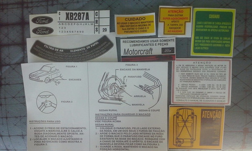 kit faixas adesivo mascara ford corcel 2 ldo gt luxo 1.4 16.
