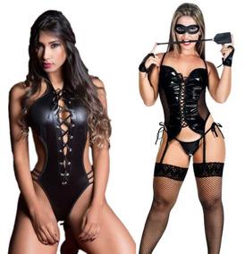 Sexy Fantasia Kit Erótica Gato Feiticeira TiazinhaMulher xrWQCdBoe