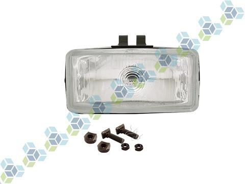 kit farol auxiliar h3 vidro euro serra milha 2 pçs