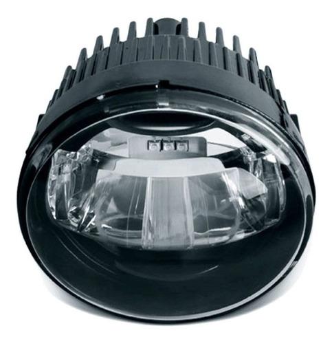 kit farol de milha neblina led universal drl shocklight 10w