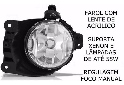 kit farol de milha sonic 2012 c/mold cromo bot mod original