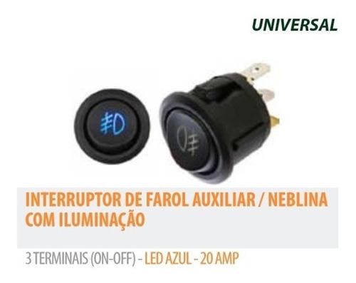 kit farol de milha universal