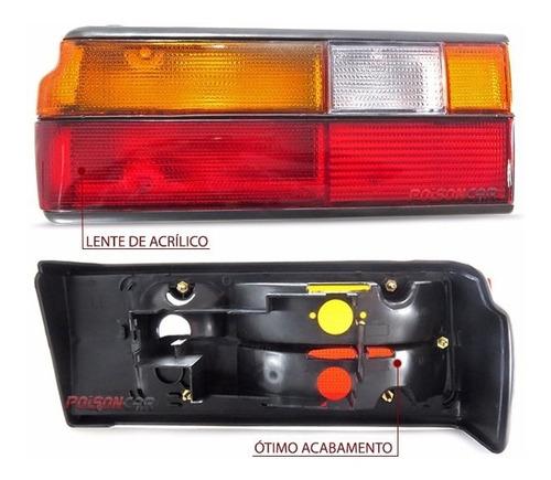 kit farol voyage 91 92 93 94 95 + pisca + lanterna tricolor