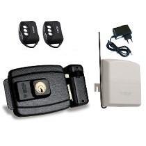 kit fechadura ecp + receptor + controle remoto  + fonte 12v