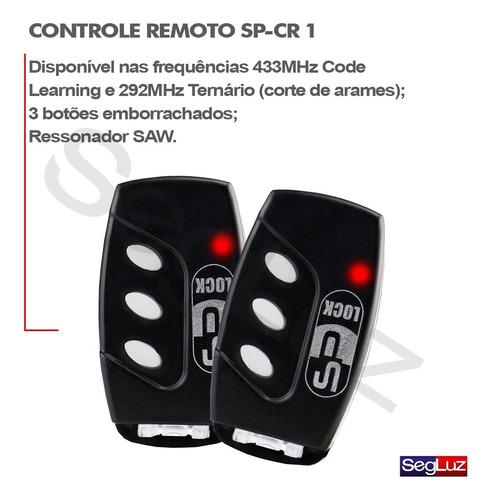 kit fechadura elétrica invertida c/ abertura controle remoto