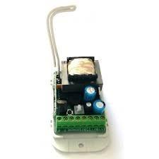 kit fechadura 'sem fio' elétrica acionador agl + 6 controles