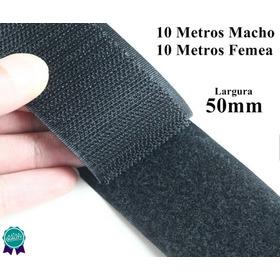 Kit Fecho De Contato 50mm Artesanato 10m Confecção Promoção