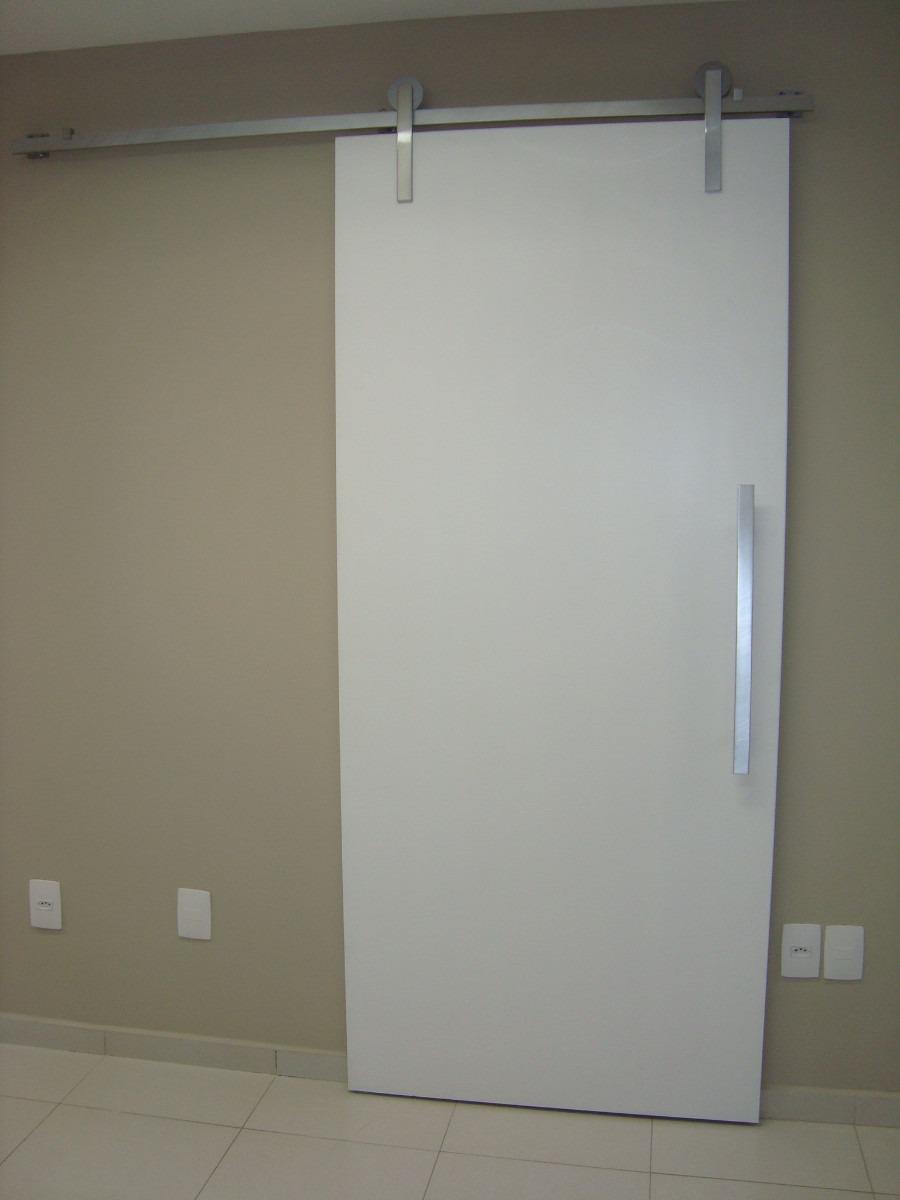 Kit ferragem porta de correr roldana aparente 3m r 305 for Porta m