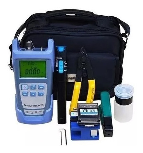 kit ferramenta fibra óptica