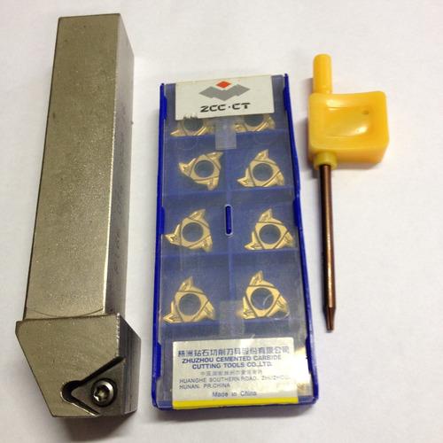 kit ferramenta para torno r166 ofg 2020 16 e pastilha r16616
