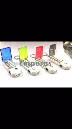 kit ferramenta portátil chave de fenda philipis e lanterna