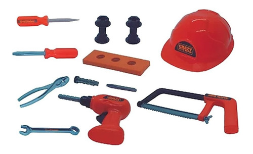 kit ferramentas brinquedo oficina infantil menino - yupitoys