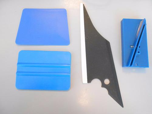 kit ferramentas prof p/ aplicaçao insulfilm envelopamento