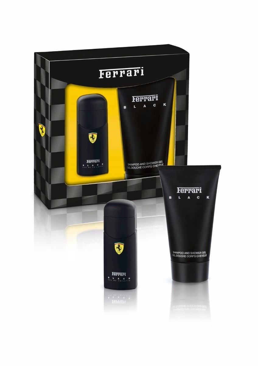 843c2dd6c Kit Ferrari Black Perfume 30 Ml