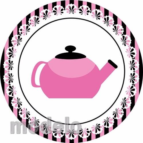 kit fest 195 adesivos personalizados chá de panela cvjigsew
