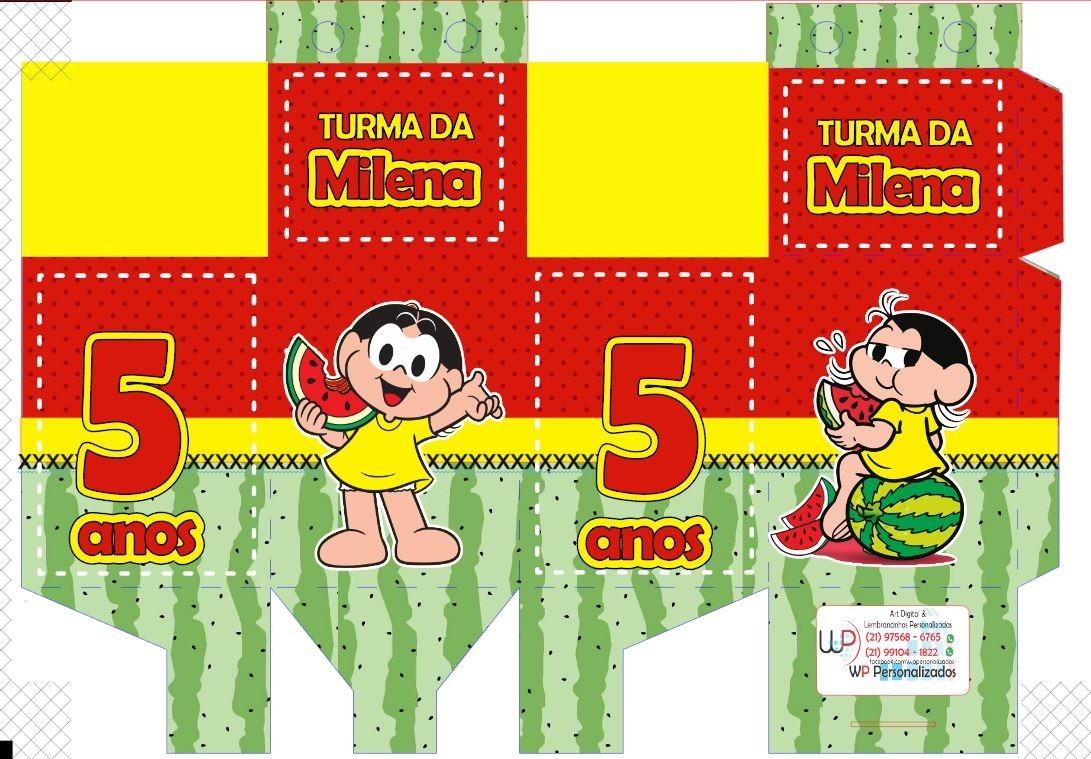 Kit Festa 10 Cx Milk 10 Porta Bis 10 Cx Piramide R 39 99
