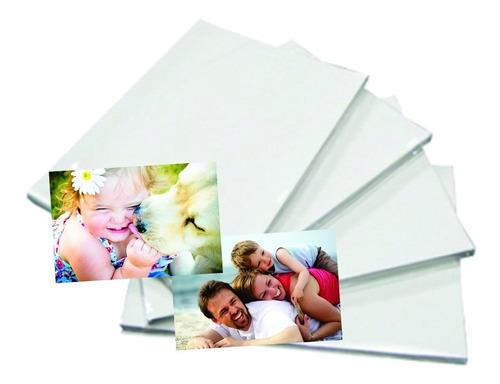 kit festa 100 papel fotográfico adesivado 100 folhas iman