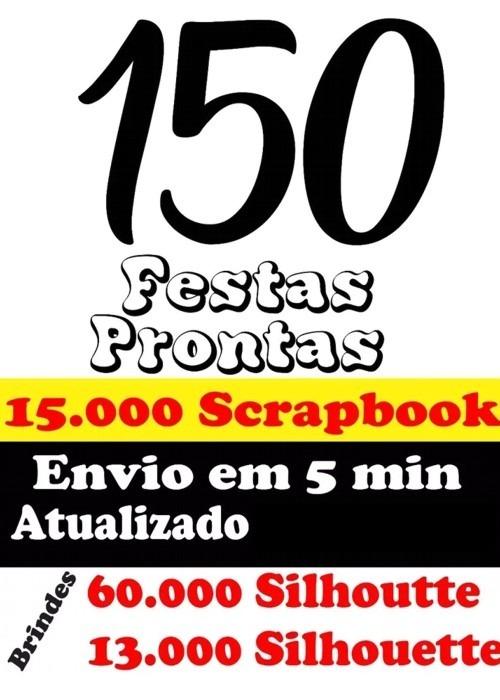 Kit Festa Arquivo P corte Silhouette + 60.000 +13000 Brinde4 - R  15 ... ba35dfa488bef