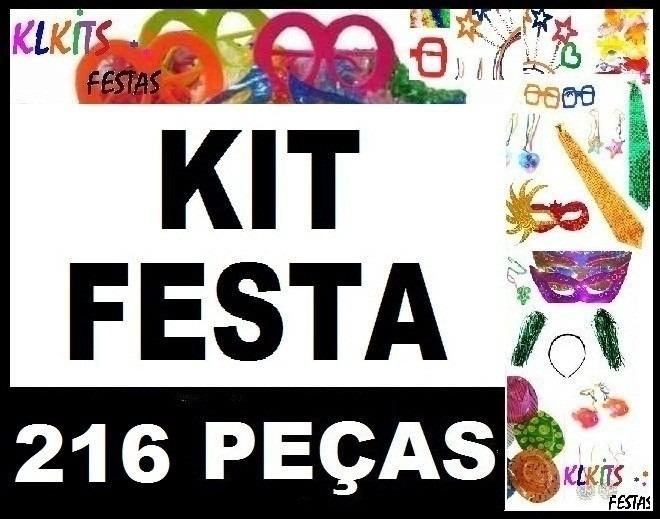 kit festa balada casamento formatura 150 convidados ref 216 r$ 149
