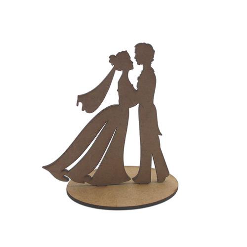 kit festa casamento com 157 peças em mdf - megatudo