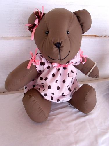 kit festa decoração infantil tema ursas rosa e marrom proven