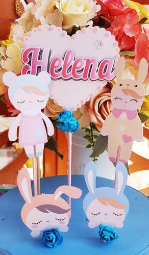 kit festa em casa boneca metoo