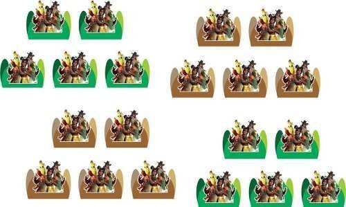 kit festa f o r t n i t e 65 peças (5 pessoas)